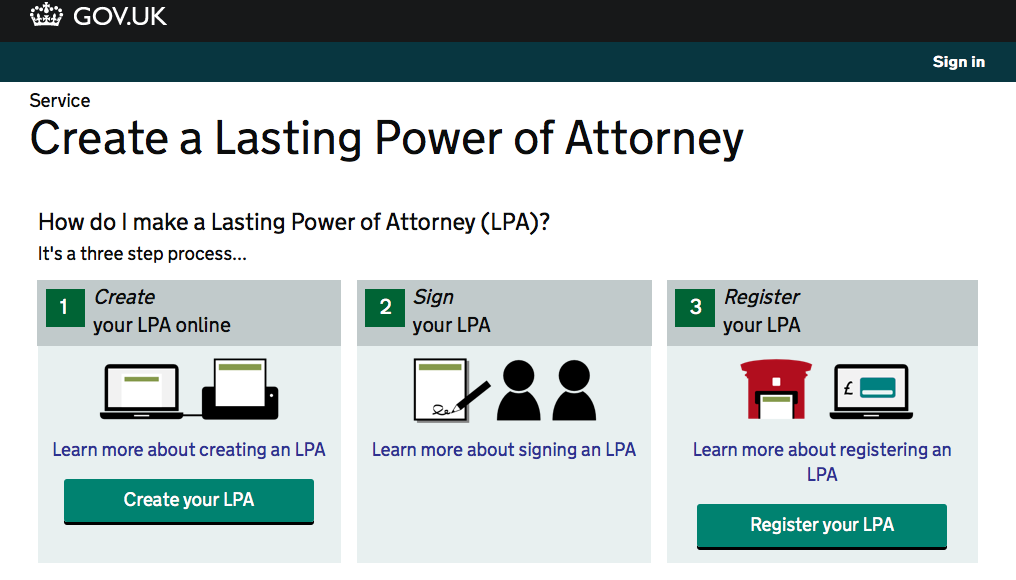 Lasting Powers Of Attorney From Alpha To Beta Moj Digital