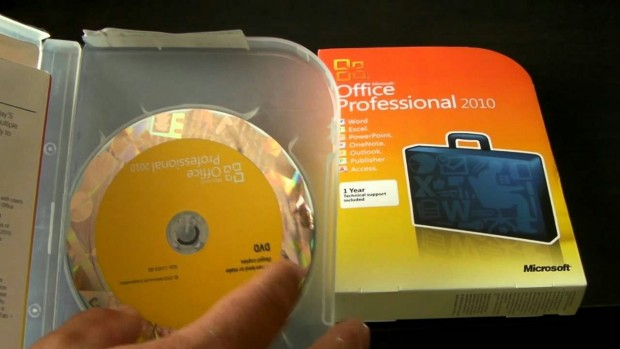 Software on discs