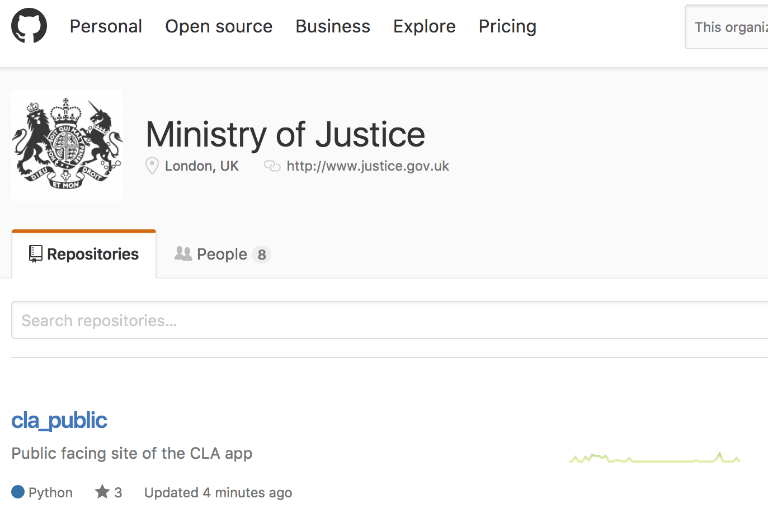 Why we code in the open - MOJ Digital & Technology